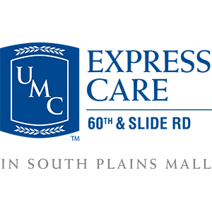 UMC Express Care. 60th & Slide Rd in South Plains Mall