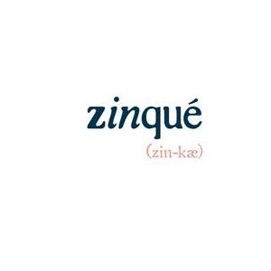 Zinqué (zin-kae)  Logo