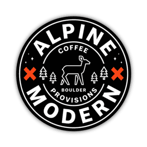 Alpine Modern Coffee Provisions Boulder