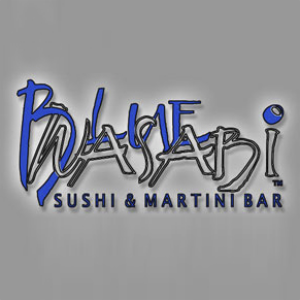 Blue Wasabi Sushi and Martini Bar Logo