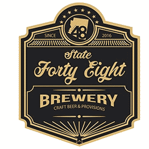 Since 2016. State Forty Eight Brewery. Craft Beer & Provisions.