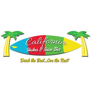 California Shakes and Juice Bar Logo