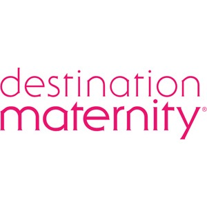 Destination Maternity, Motherhood Maternity & A Pea in the Pod Logo