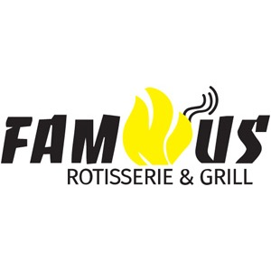 Famous Rotisserie & Grill Logo