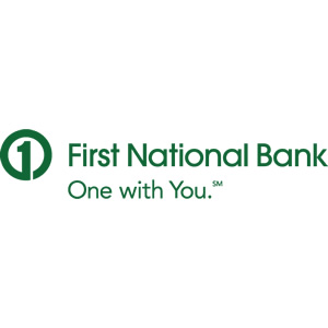 First National Bank - One with You.