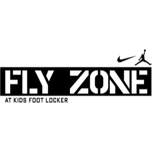 fly zone by kids Foot Locker Logo