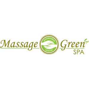 Massage Green Spa Logo