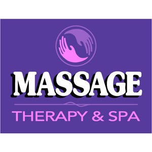 Massage Therapy & Spa Logo