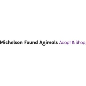 Michelson Found Animals Foundation Adopt & Shop Logo