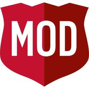MOD Super Fast Pizza Logo