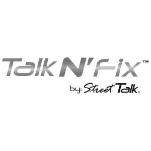 "Talk N"" Fix Logo"